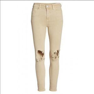 NWT Free People Busted Khaki Skinny Jeans! 🍁